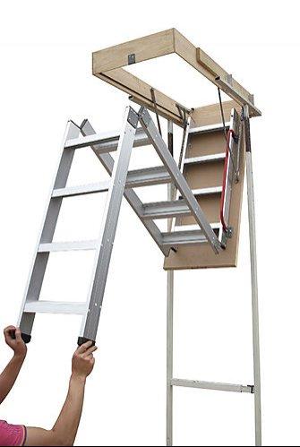 Aluminium Attic Ladders