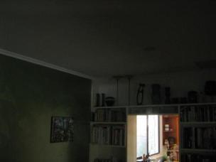 Before skylight installation