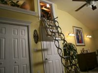 Make your attic stairs safe
