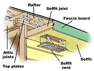Roofing Vent Protects